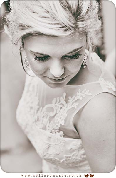 Beautiful Bridal portrait, Suffolk - www.helloromance.co.uk