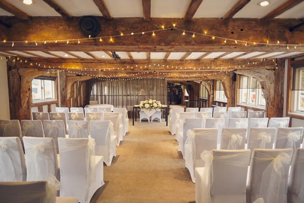 Tuddenham Mill Wedding Venue Ceremony - www.helloromance.co.uk