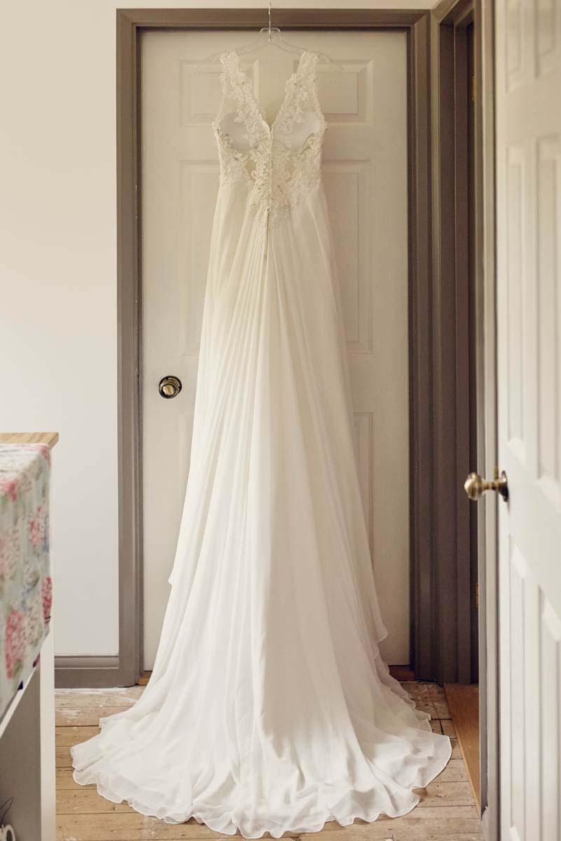 Suffolk Woodland Fairy Wedding Stunning Dress - www.helloromance.co.uk