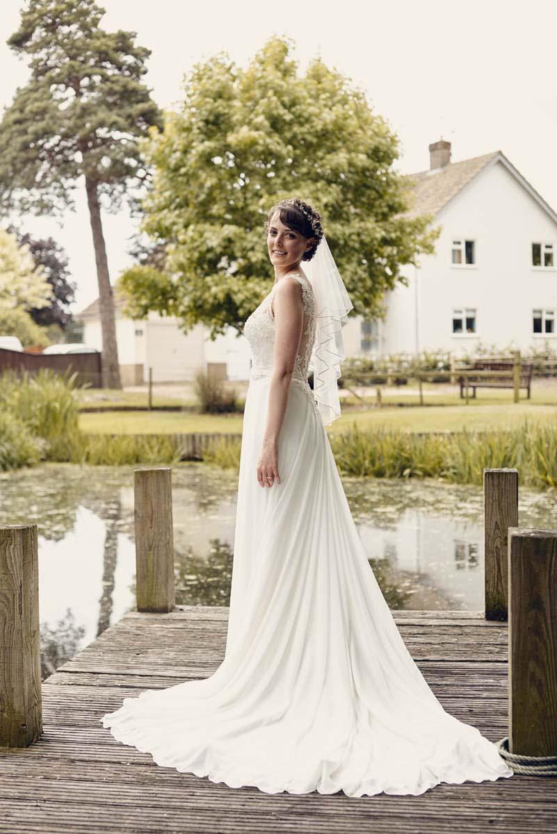 Suffolk Woodland Fairy Wedding Bridal Portrait - www.helloromance.co.uk