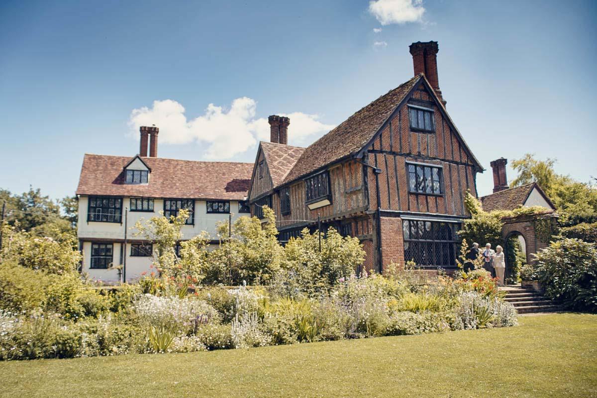 Suffolk Woodland Fairy Wedding Venue Otley Hall - www.helloromance.co.uk