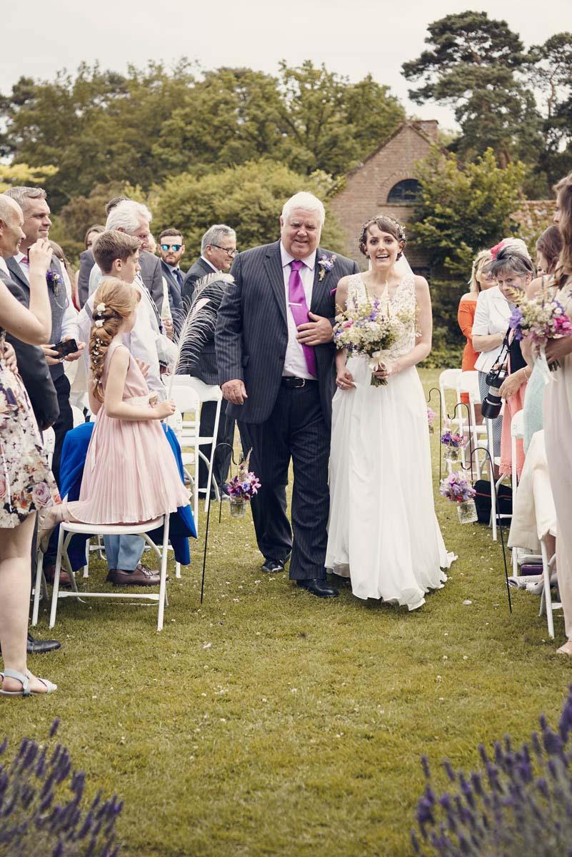 Suffolk Woodland Fairy Wedding Ceremony at Otley Hall - www.helloromance.co.uk