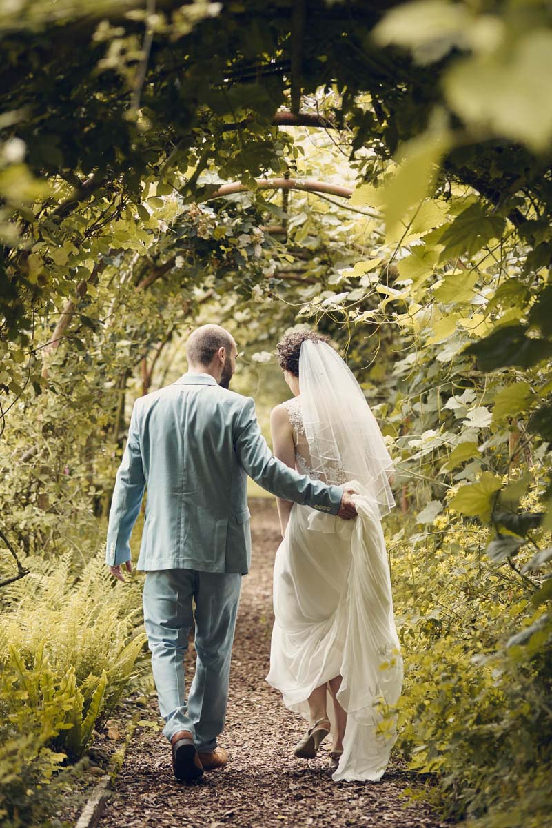 Suffolk Woodland Fairy Wedding - Bride and Groom photoshoot at Otley Hall - www.helloromance.co.uk