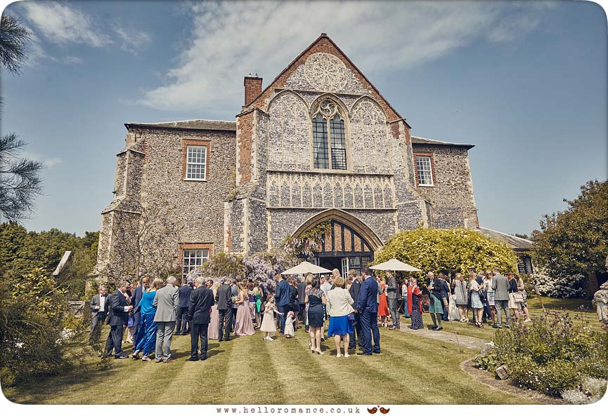 Wedding held at Butley Priory, Woodbridge 2016 - www.helloromance.co.uk