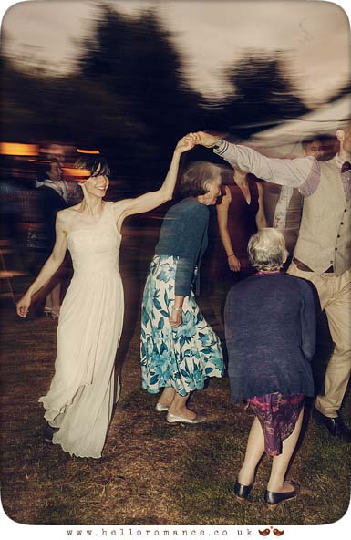 Dancing at wedding - Hello Romance
