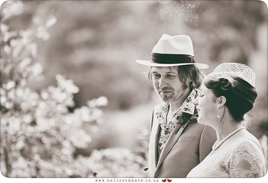 Black & White photo from Essex wedding in 2015 - www.helloromance.co.uk