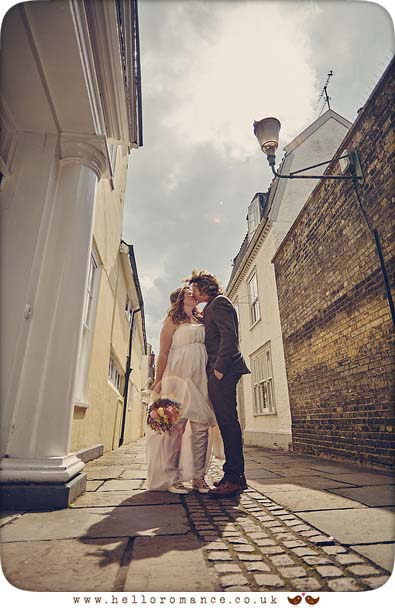Athenaeum Lane, Bury St Edmunds, wedding photo - www.helloromance.co.uk