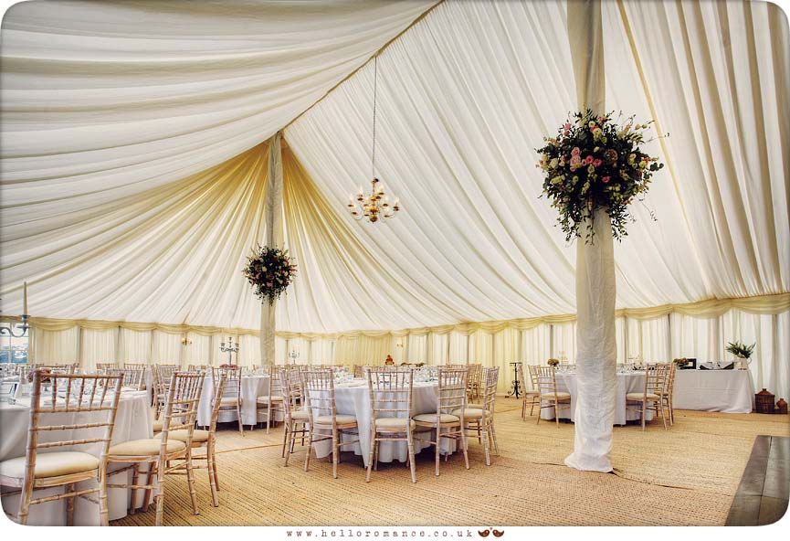 Wedding Marquee at Helmingham Hall Wedding Photography - Katie and Greg - Hello Romance Wedding Photography Ipswich Suffolk