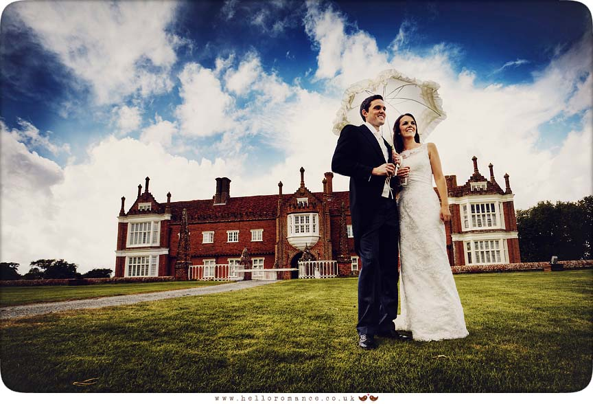 Bride and Groom at Helmingham Hall Wedding Photography - Katie and Greg - Hello Romance Wedding Photography Ipswich Suffolk