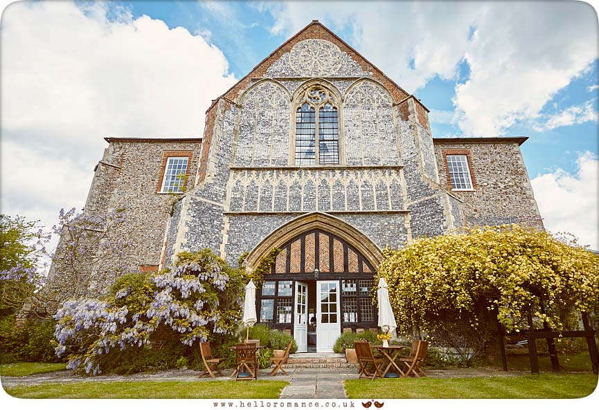 Butley Priory - www.helloromance.co.uk