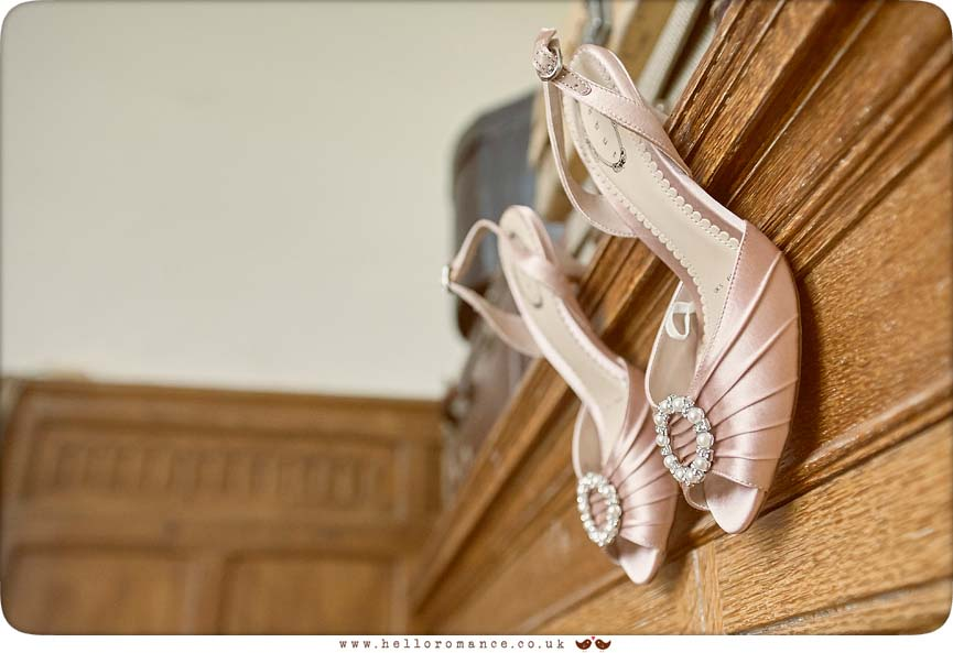 Wedding shoes - www.helloromance.co.uk