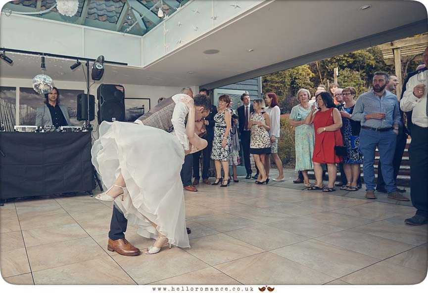 First dance at Westleton Crown - www.helloromance.co.uk