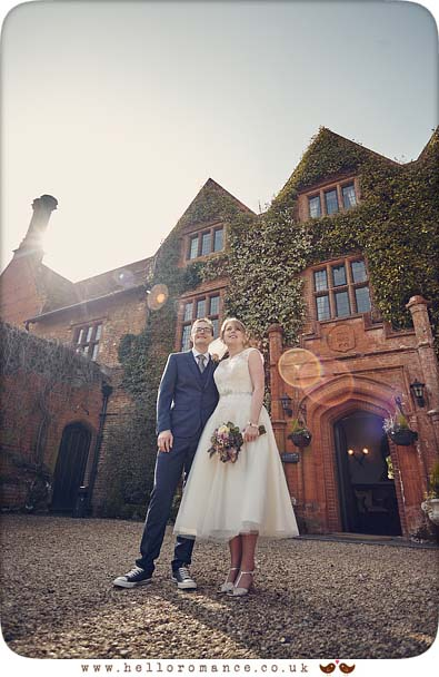 Wedding at Woodhall Manor - www.helloromance.co.uk