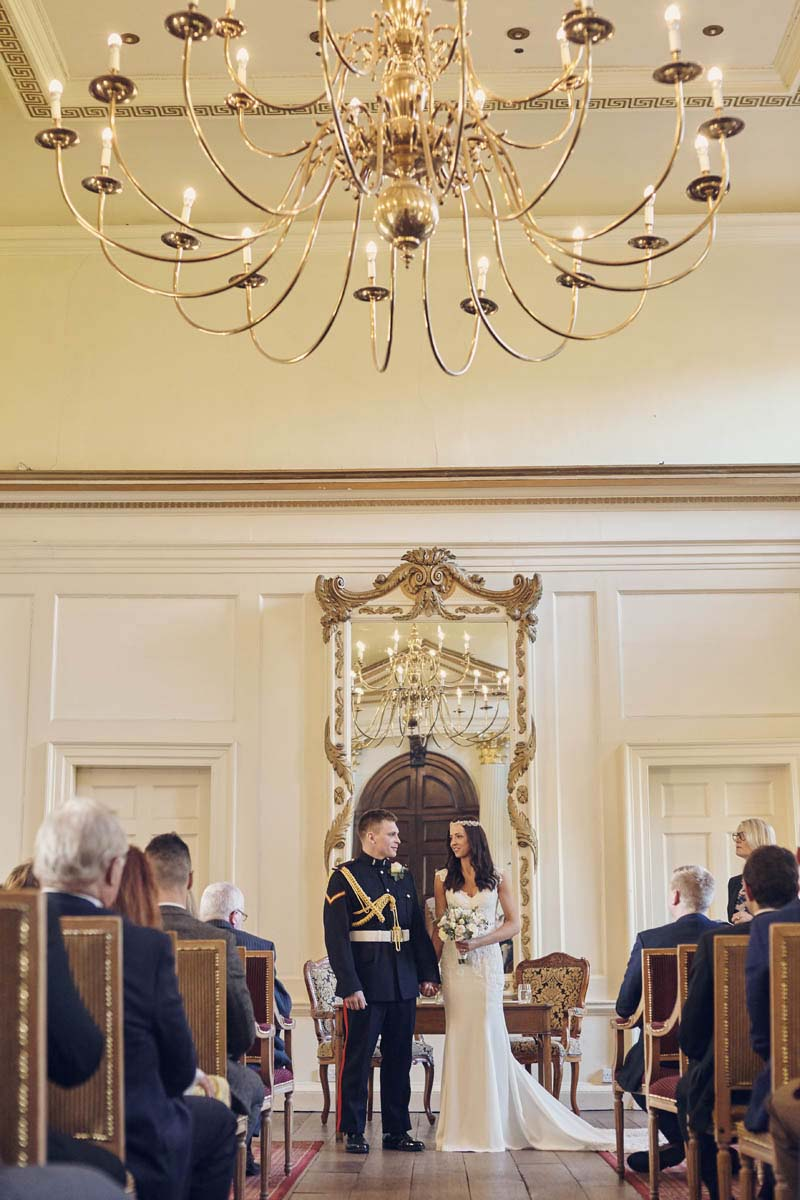 Wedding Ceremony at Hintlesham Hall - www.helloromance.co.uk