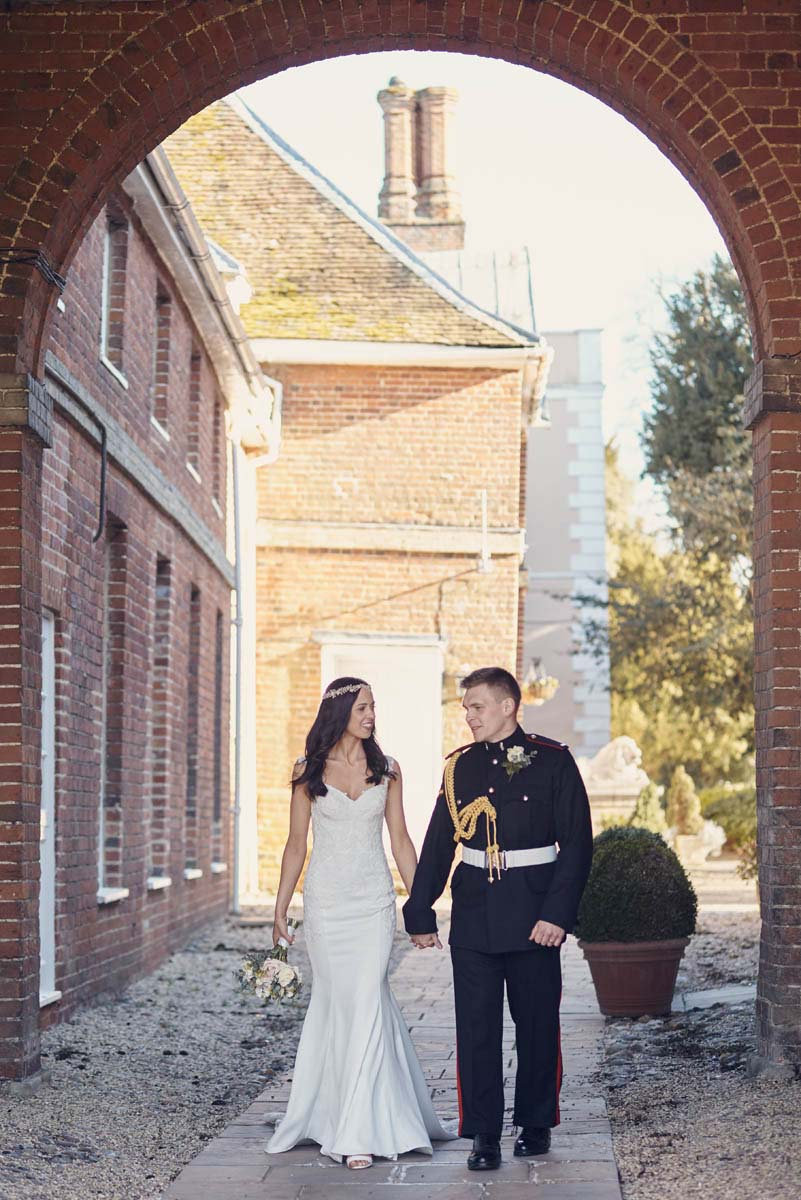An example of alternative wedding photography at Hintlesham Hall - www.helloromance.co.uk