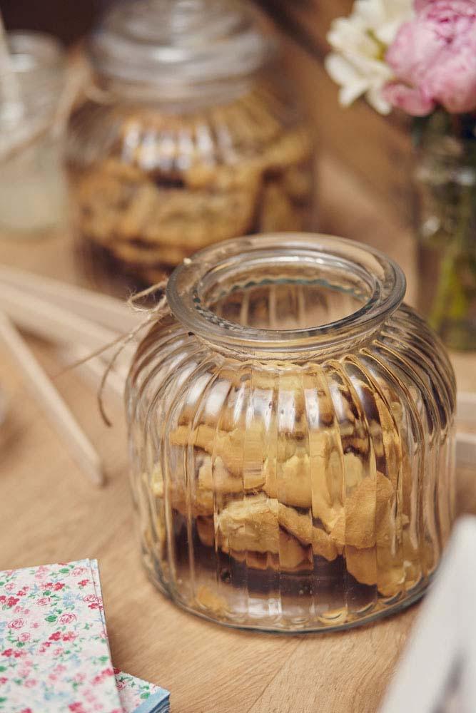 Cookie Bar at wedding in Suffolk - www.helloromance.co.uk