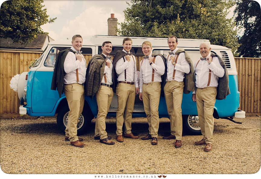 Volkswagen Camper Suffolk Wedding Photography