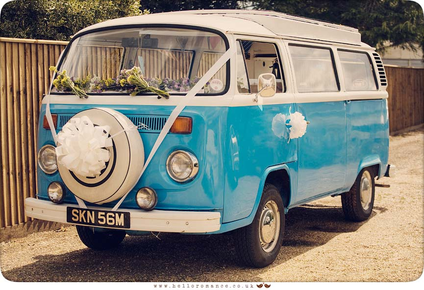 VW Campervan Wedding Photographers