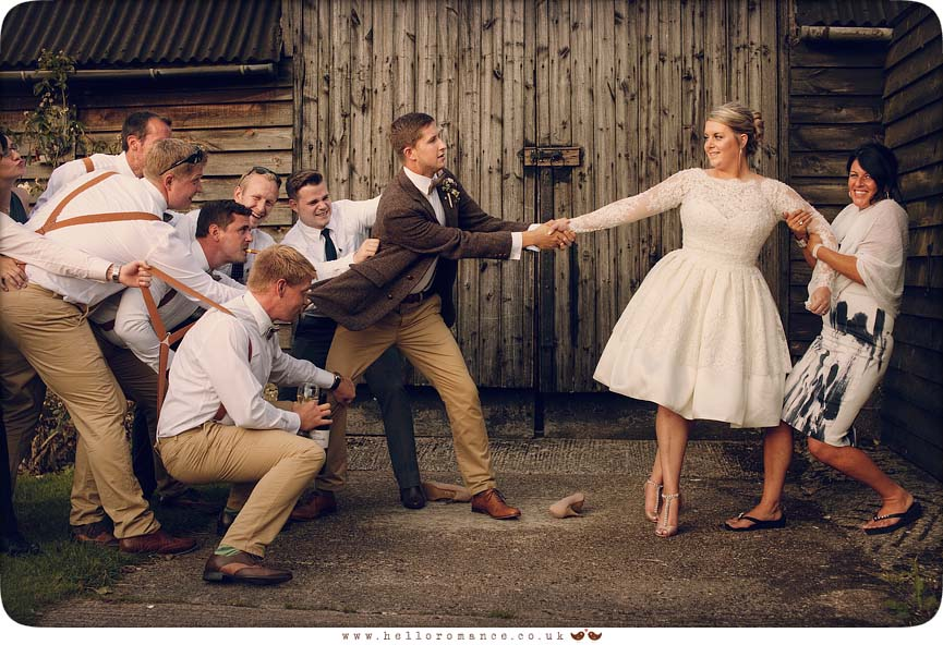 Fun Wedding Photos UK