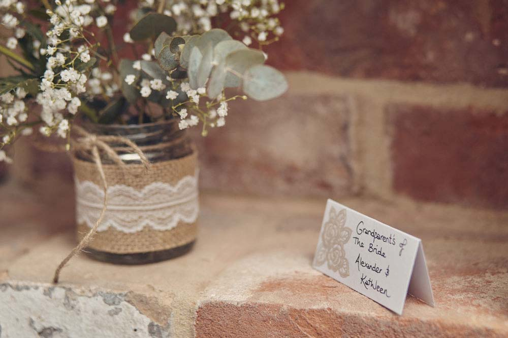 vintage cute rustic wedding stationery - www.helloromance.co.uk