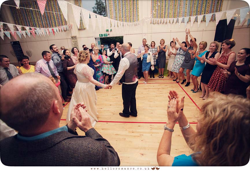First Dance at Bromswell Village Wedding Vintage Wedding Photography - Hello Romance
