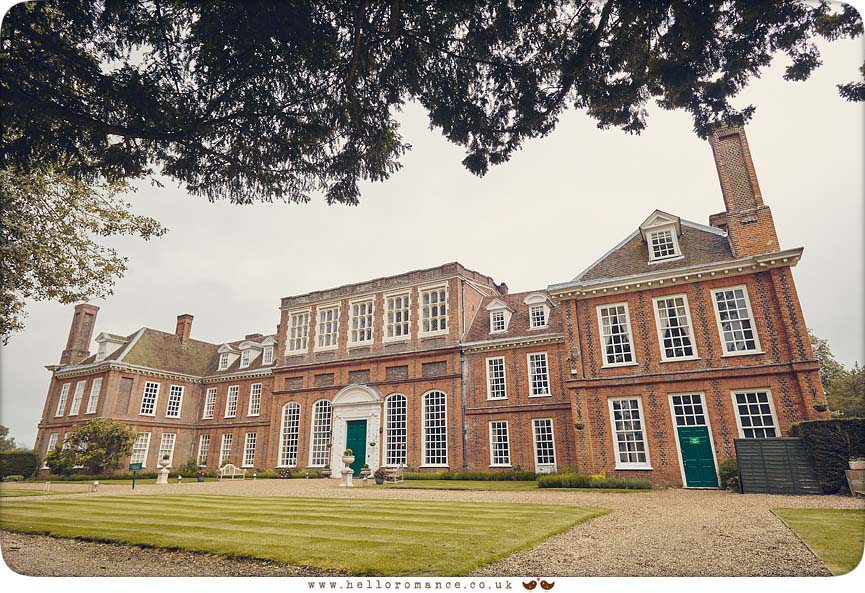 Gosfield Hall venue photo, 2016 - www.helloromance.co.uk