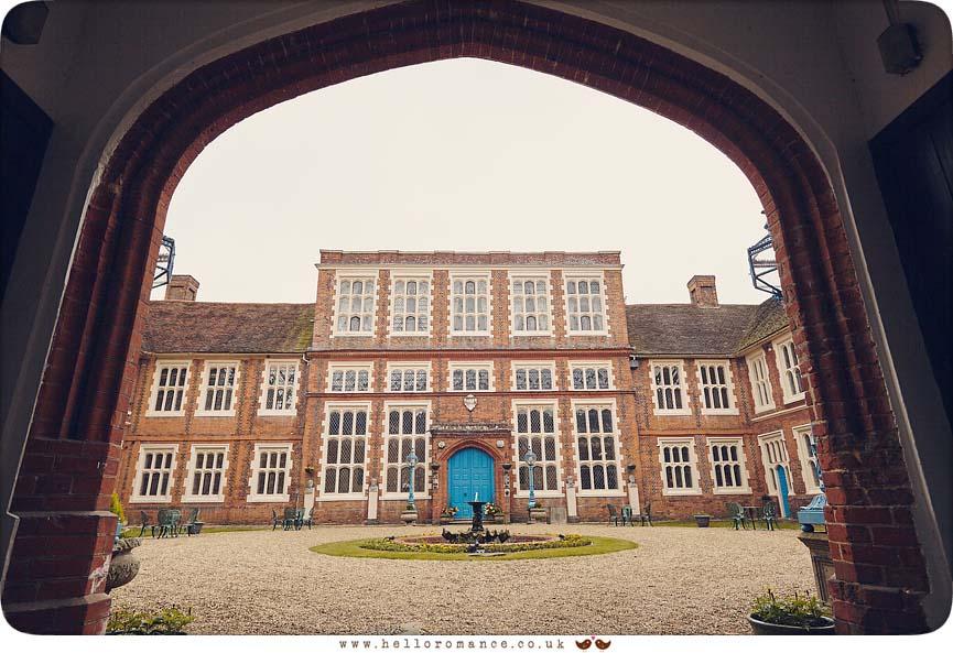 Gosfield Hall venue photo, 2016 - www.helloromance.co.uk