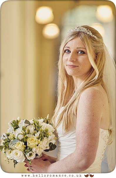 Beautiful bride portrait at Gosfield Hall - www.helloromance.co.uk