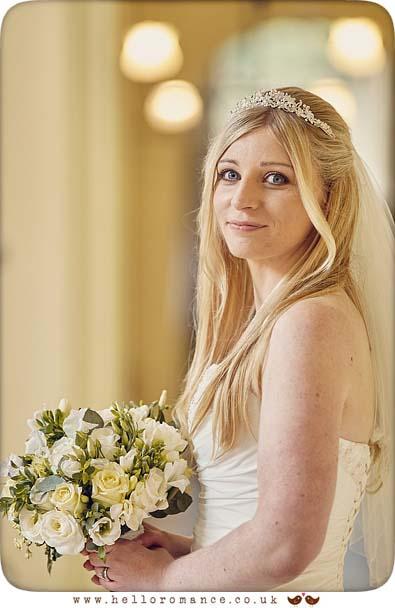 Beautiful bride portrait at Gosfield Hall - www.helloromance.co.uk