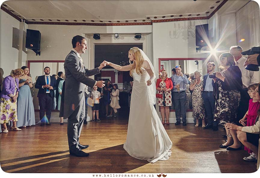 First Dance, Gosfield Hall - www.helloromance.co.uk