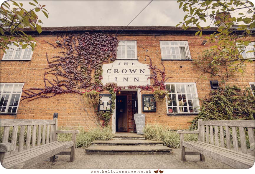 The Westleton Crown Inn, Westleton - www.helloromance.co.uk