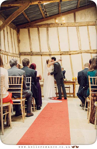 Alpheton Hall Barns Wedding Ceremony Suffolk - Hello Romance