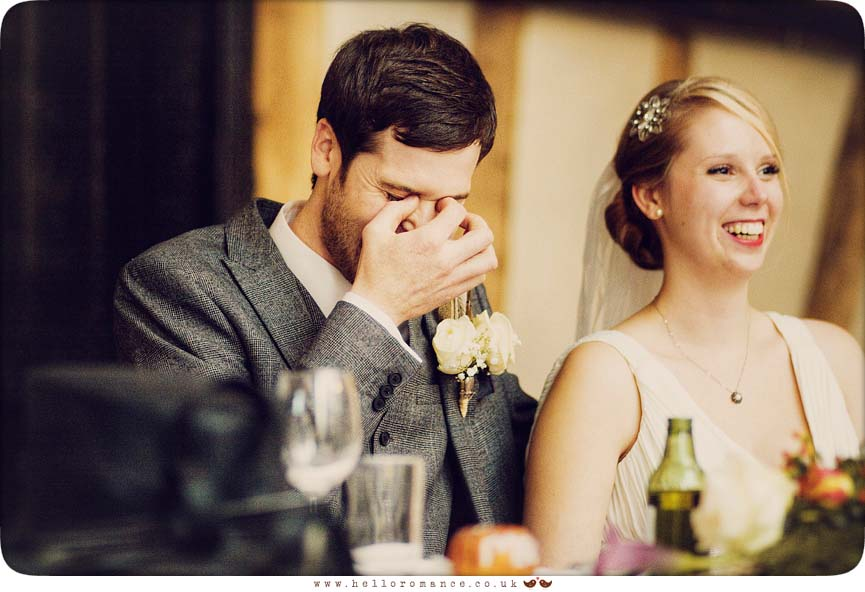 Groom Embarrassed in Best Man's Speech - Hello Romance