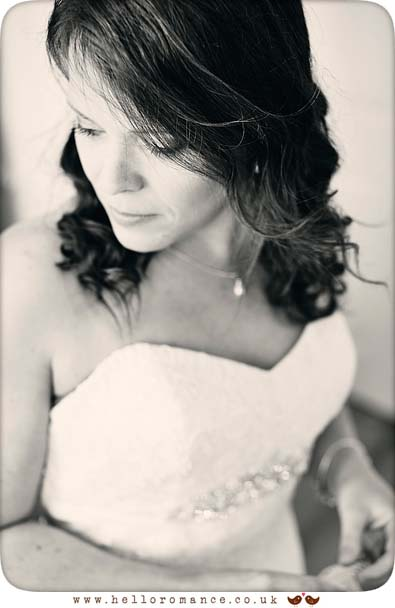 Beautiful bridal portrait in Bury St Edmunds - www.helloromance.co.uk