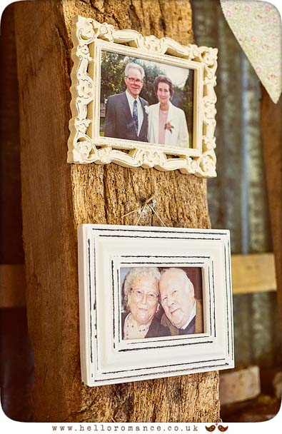 Picture frames - www.helloromance.co.uk