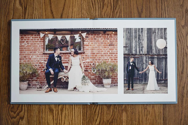 Folio Albums Photobook in Wedding Photography Package by Hello Romance Wedding Photography Suffolk