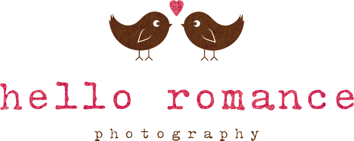 Hello Romance Photography Logo